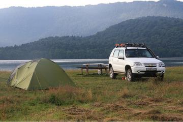 Лагерь на Шаорском водохранилище