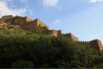 Крепость Горис-Цихе. Интересно снять этот объект можно только с воздуха.